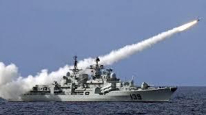 China warship